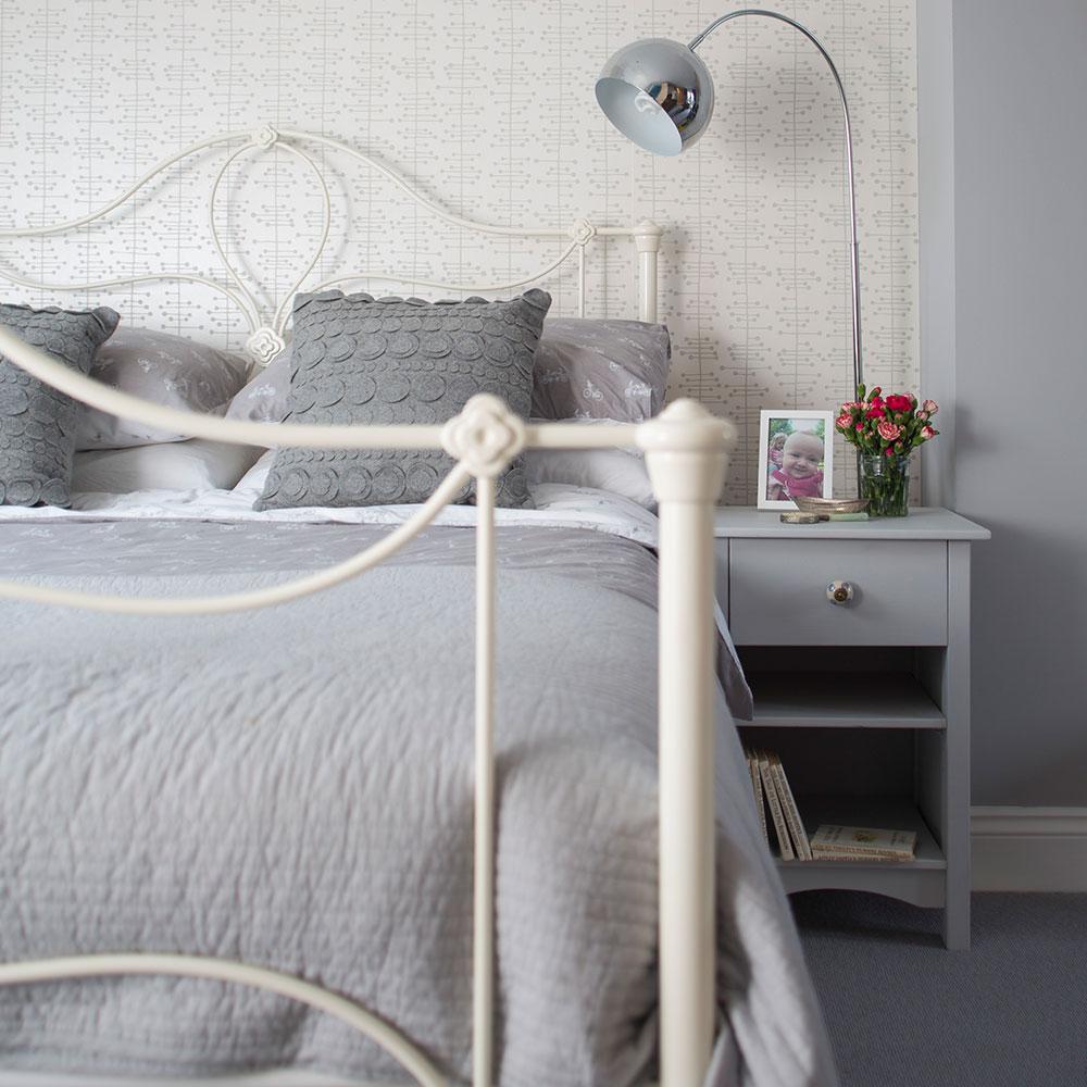 Grey bedroom ideas calm scheme