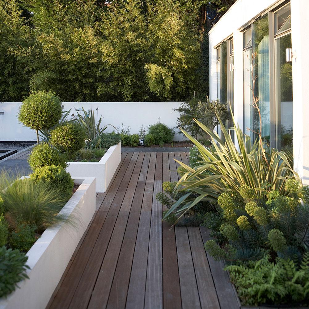 Idee di decking del giardino