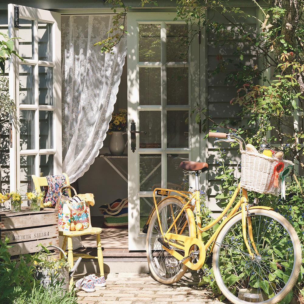 Tenda per bici casa estiva casa estiva idee stile Tim-Young