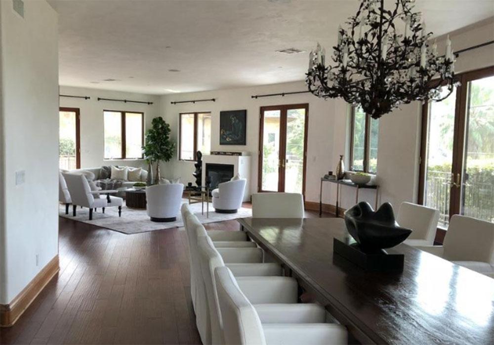 Eva-Longorias-casa-sala da pranzo