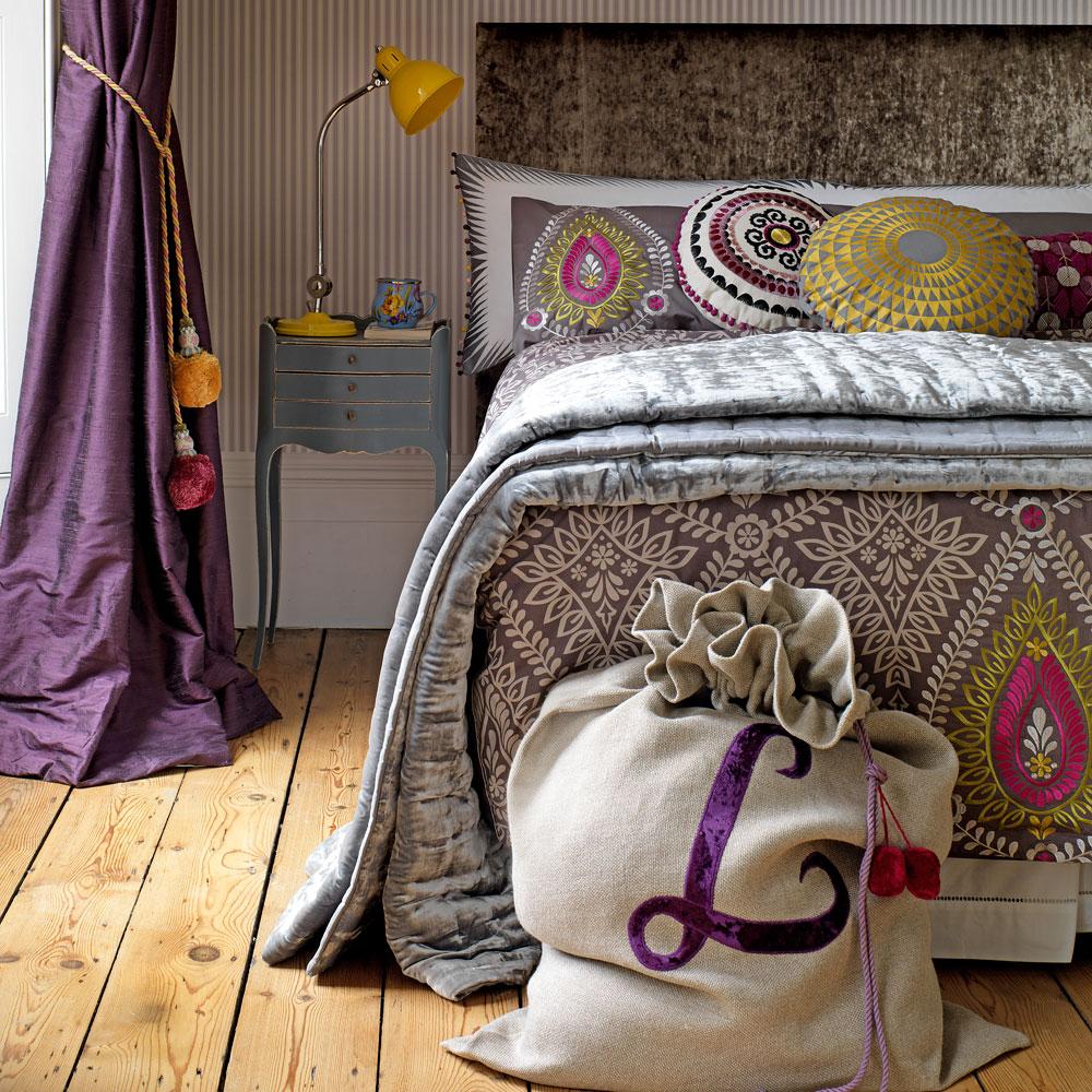 Delicato Colore Viola Pallido crea un ambiente felice e armonioso con queste idee da