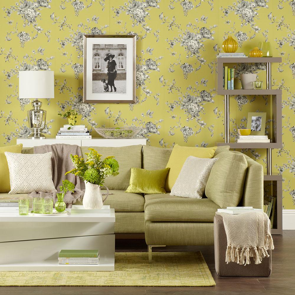 Green-soggiorno-ideas-Chartreuse