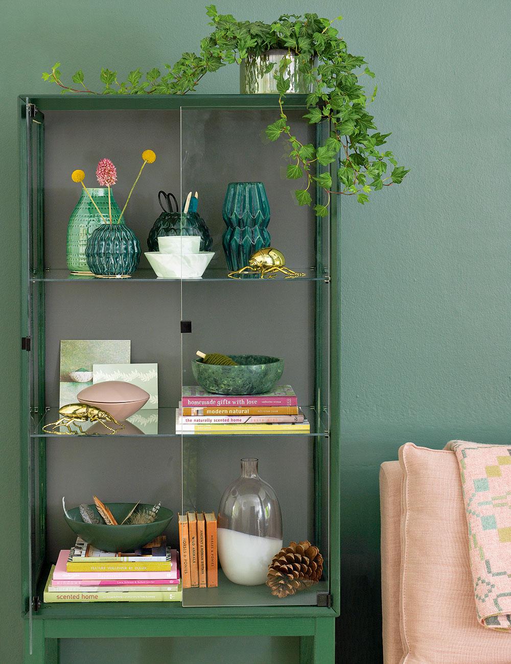 Green-soggiorno-ideas-verde-dichiarazione pezzi