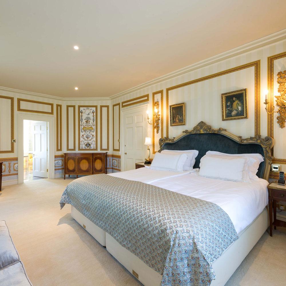 Camera da letto di Harold Tower Castle Isle of Man