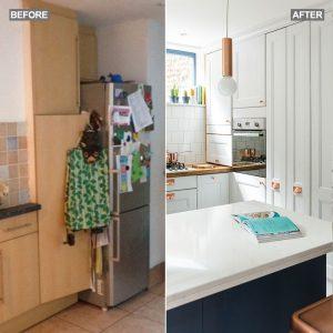 Pieno di luce-cucina abitabile-restyling-prima