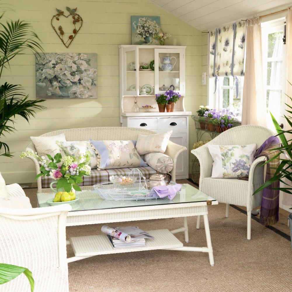 Summer house love heart Idee in stile casa estiva Lucinda-Symons
