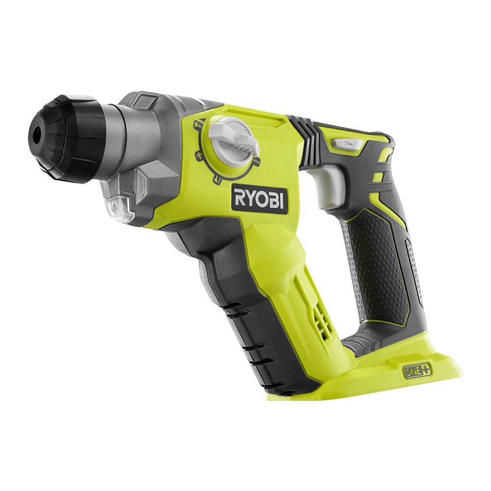 best-drill-Ryobi 18V ONE + SDS + Rotary Hammer Drill