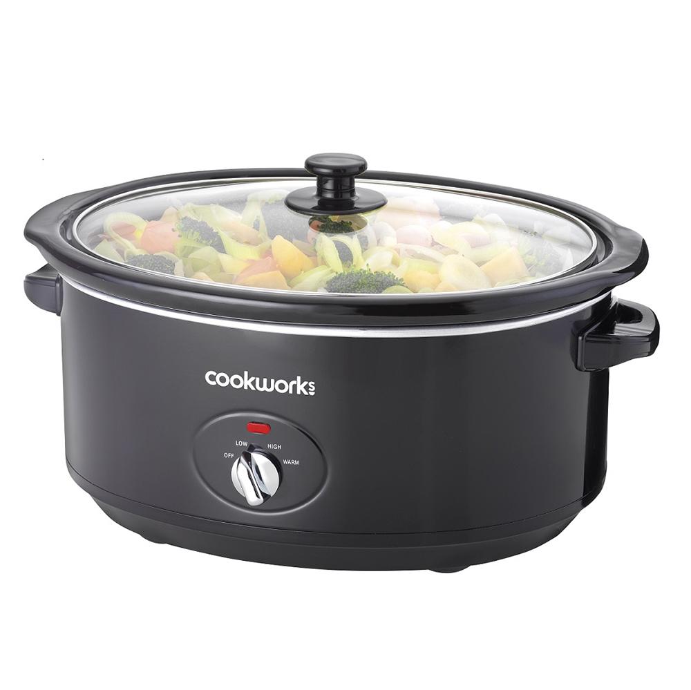 migliori-slow-cookers-1 Argos Cookworks 6.5L Slow Cooker - Nero