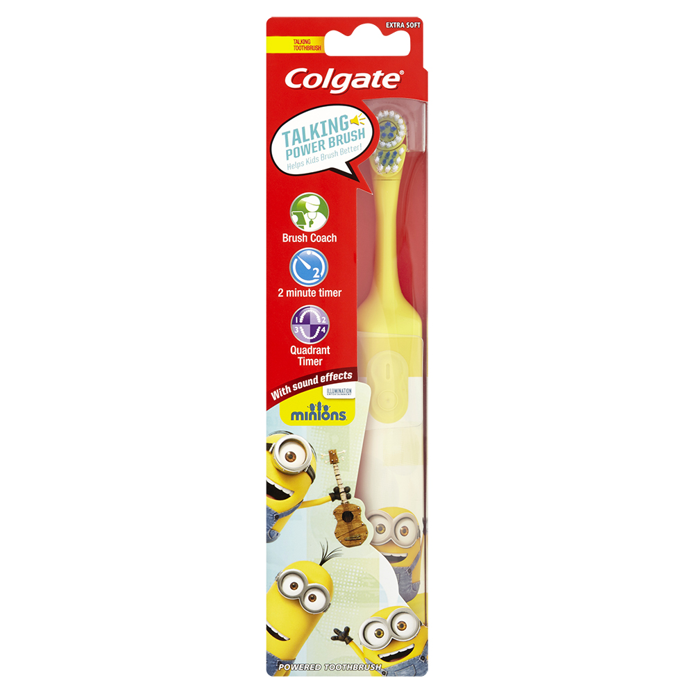 best-toothbrushes-04 - Spazzolino elettrico a batteria Colgate Minions