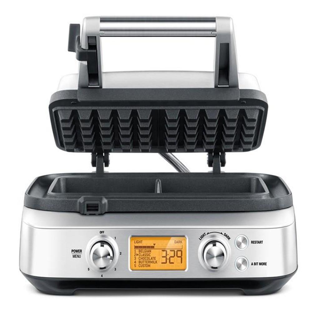 best-waffle-maker-6a. Le appliance Smart Waffle_Sage