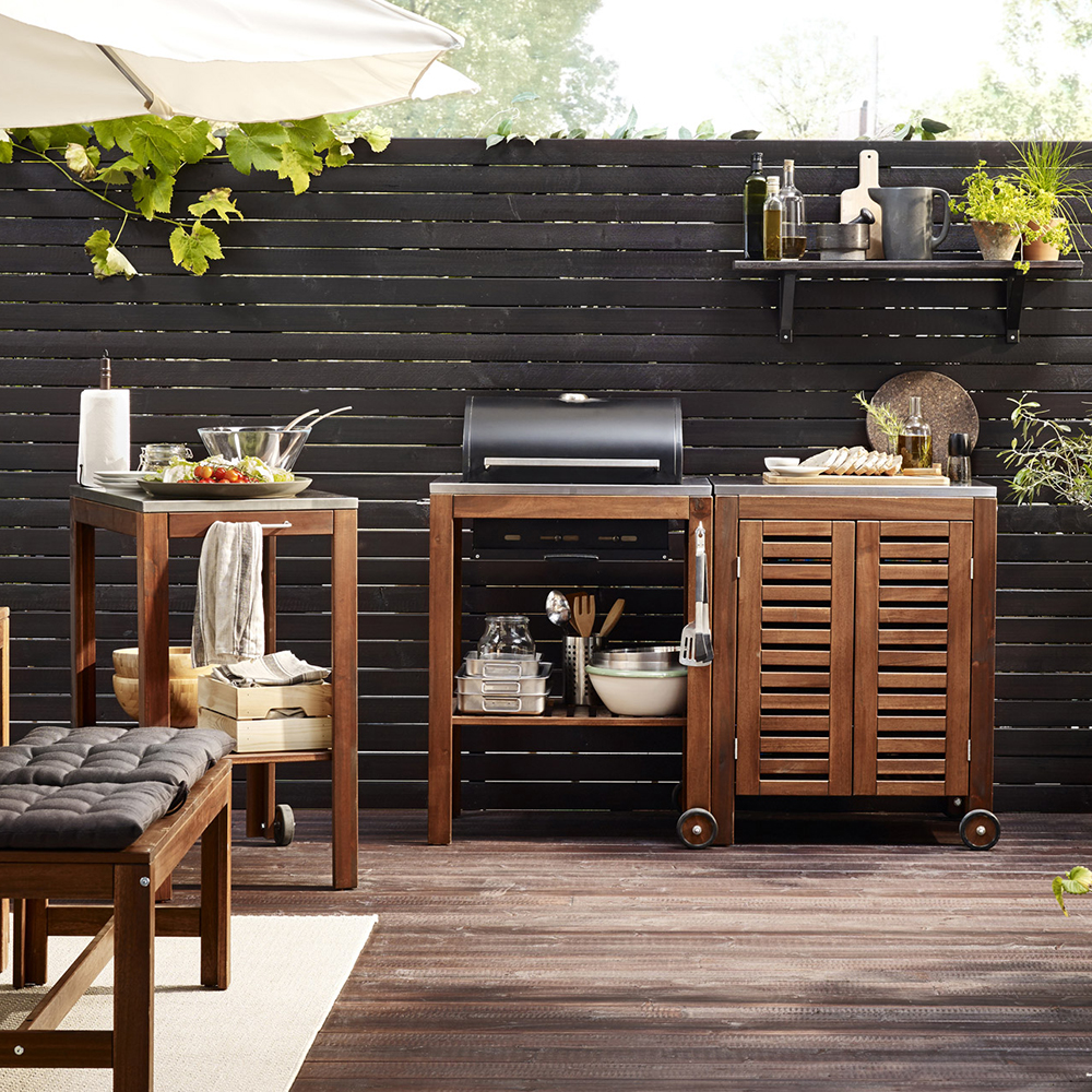 Cucina all'aperto Ikea