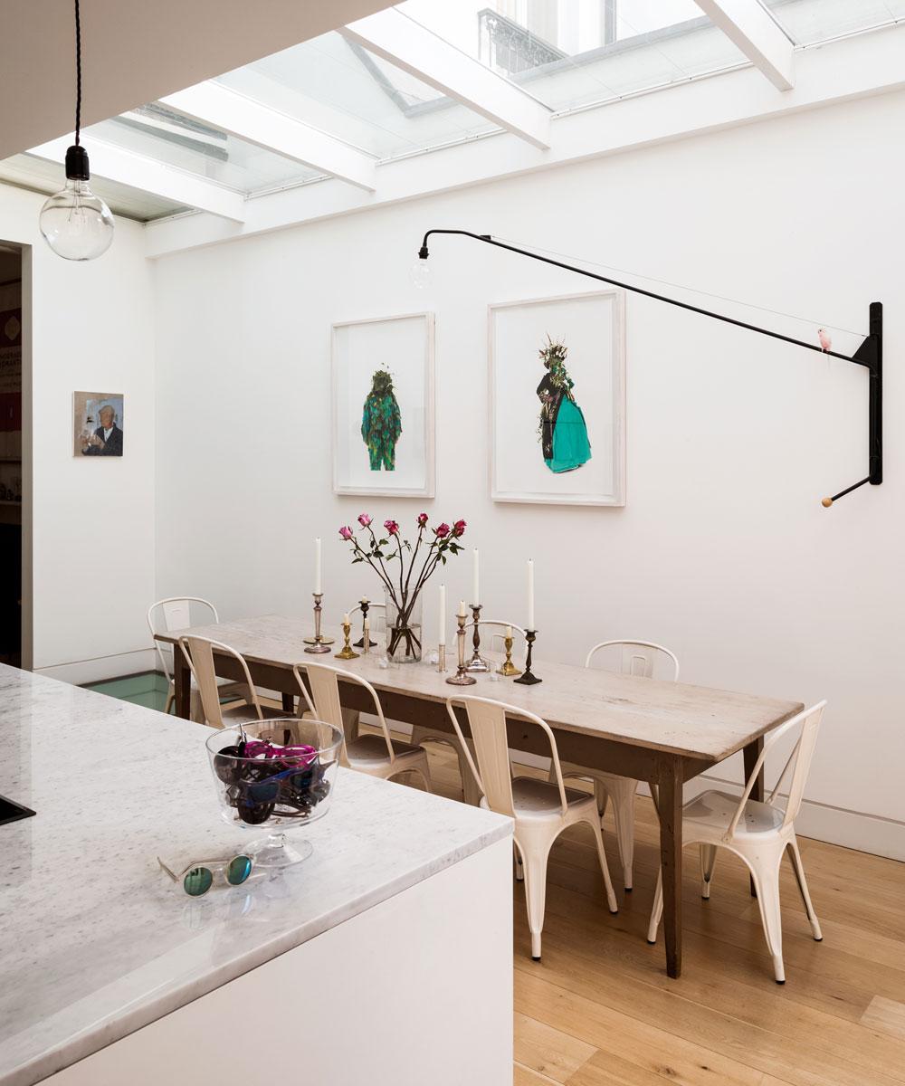 Idee per una piccola sala da pranzo moderna